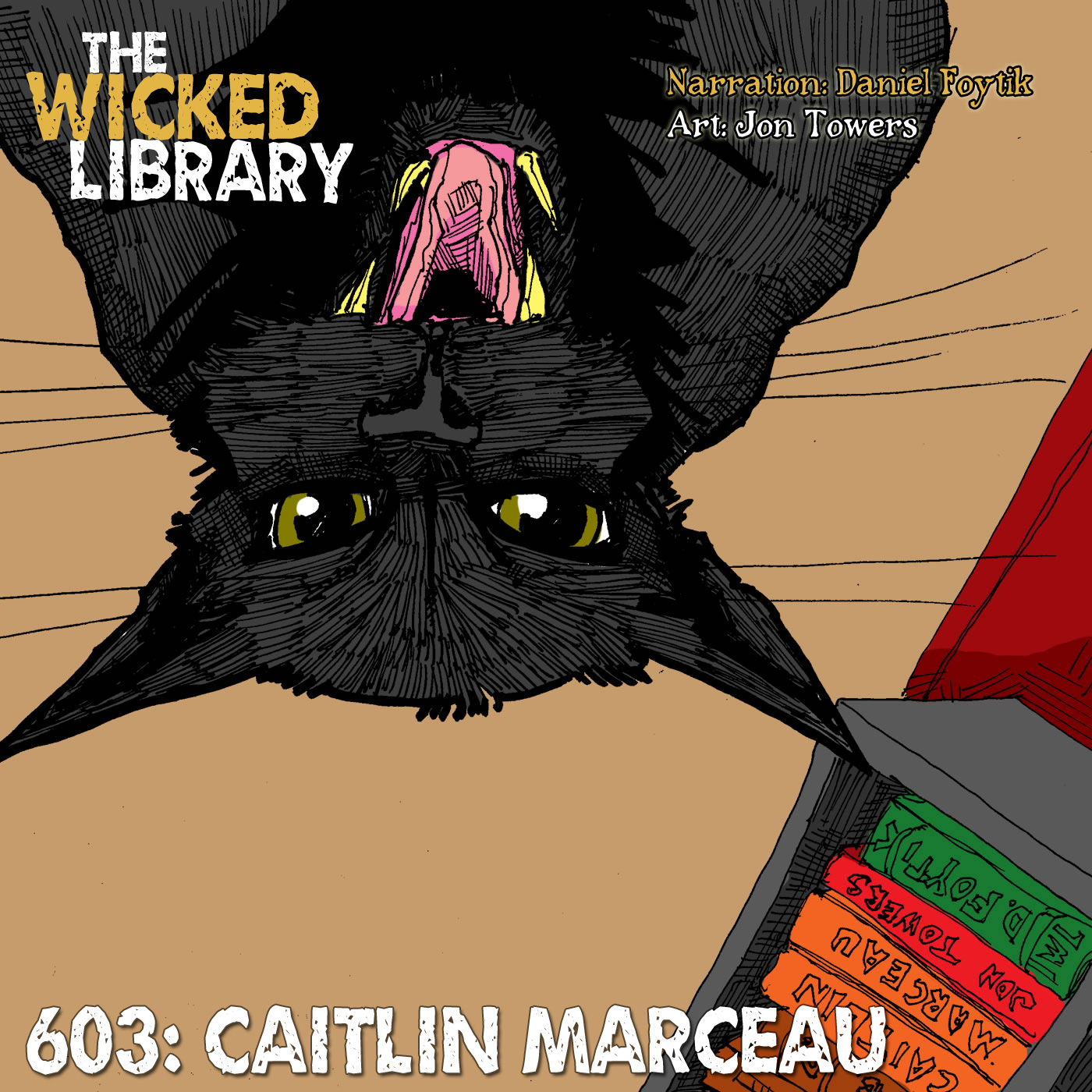 "603: ""Stuck"" by Caitlin Marceau"