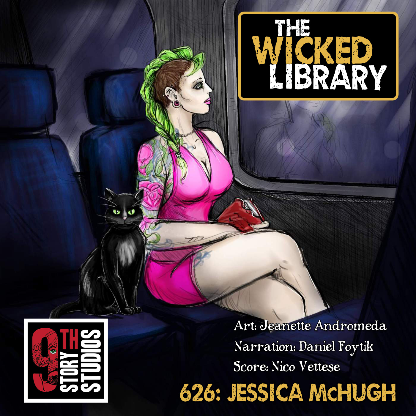 626: Terror Returns – Two Tales from Jessica McHugh