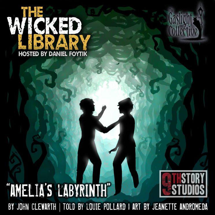 723: Amelia's Labyrinth - by John Clewarth