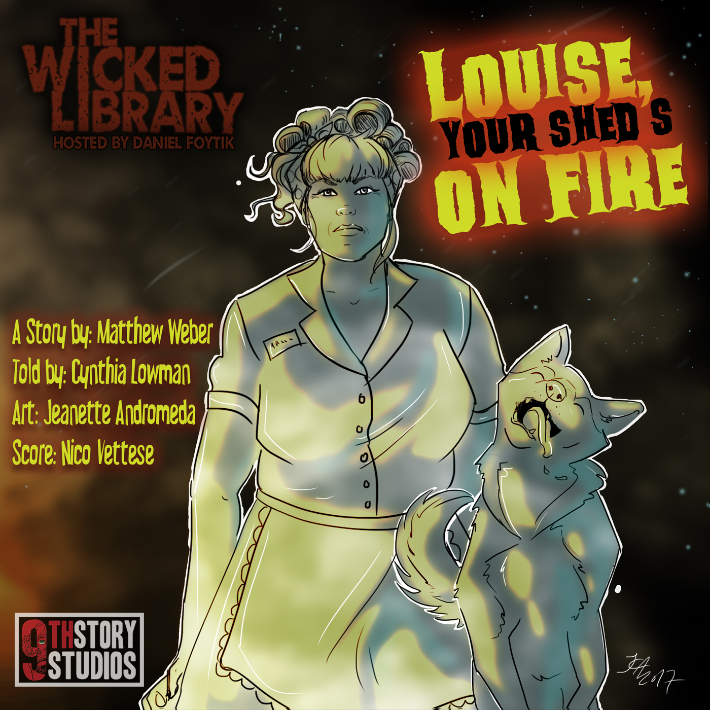 728: Louise, Your Shed's on Fire – by Matthew Weber
