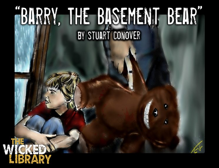 701: Barry the Basement Bear by Stuart Conover